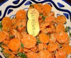 cuisiner les carottes carottes à la marocaine recette de carottes à la marocaine