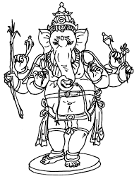 bal ganesha coloring games coloring pages