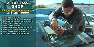 repair glass auto glass northeast philadelphia car truck windshield crack