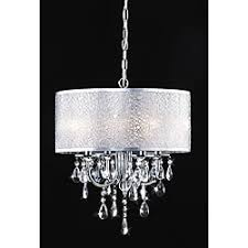 Drum Pendant Chandelier With Crystals Chrome 3 Light Black Shade Crystal Chandelier Chandeliers