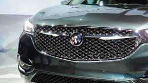 Most Interior Space Suv 2018 Buick Enclave Avenir Launches Luxe Subbrand With Premium Suv