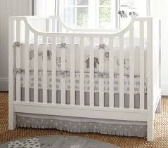 White Nursery Bedding Sets Baby Bedding Set Pottery Barn