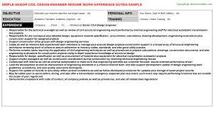 Electrical Design Engineer Resume Sample by Hfc Design Engineer Resumes Samples