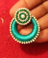 paper ear rings sruti s jewels manufacturer of quilling paper earrings silk