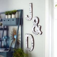 Letter Wall Decor Weathered Letter Wall Decor Pier 1 Imports