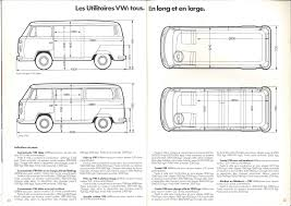 volkswagen bus drawing thesamba com bay window bus view topic square footage