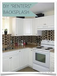 backsplash tile for kitchen peel and stick kitchen thrifty crafty easy kitchen backsplash with smart