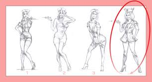 custom pin up poster 1950s style