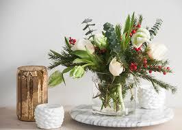 christmas floral arrangements no poinsettias for christmas earnest home co