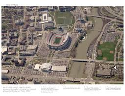 Ohio Stadium Map by Asla 2012 Professional Awards The One Ohio State Framework Plan