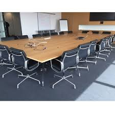Vitra Meeting Table Vitra Eames Boardroom Table 5 6l X 2 7d Large Boardroom Table