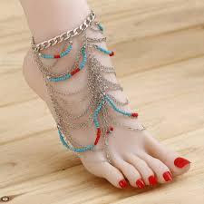 wedding barefoot sandals zoshi fashion 2017 ankle bracelet wedding barefoot sandals