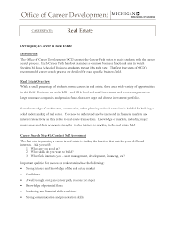 real estate resumes resume real estate real estate resume for new agents real