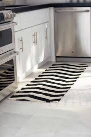 modern kitchen rugs 20 ways to black and white kitchen rugs