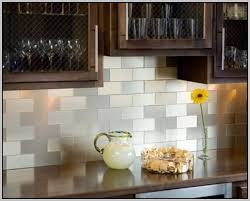 Peel And Stick Backsplash Tile Kits Marvelous Stylish Interior - Glass peel and stick backsplash
