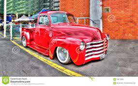 Vintage Ford Truck Australia - red 1948 pick up truck editorial stock image image 58919884
