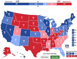 2004 Election Map by Benchmark Politics Electoral College Map The Big Picture