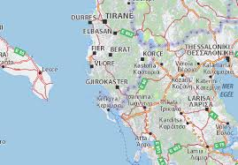volos map map of gjirokastër michelin gjirokastër map viamichelin