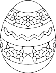 simple pattern easter eggs coloring pages for kids womanmate com