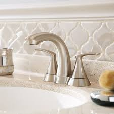 Bathroom Faucets For Your Sink Shower Head And Tub The Home Depot - Bathroom basin faucets