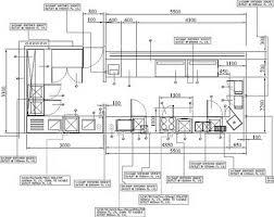 Kitchen Floor Plan Kitchen Dazzling Restaurant Open Kitchen Floor Plan Restaurant