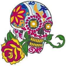 embroidery machine pattern designs 11 skulls and sugar skull