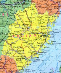 Nanjing China Map by Fujian Map China Travel Map