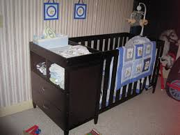 Convertible Cribs With Storage by Bedroom Terrific Charming Black Crib Changer Combo With Drawers