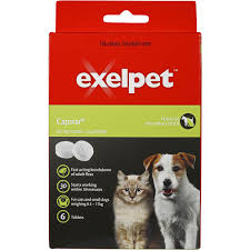 exelpet treatment capstar cat small dog 6 tablets woolworths