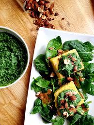 cuisiner le navet polenta crémeux de fanes de navets green cuisine food