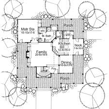 Country Kitchen Floor Plans by Country Style House Plan 3 Beds 2 50 Baths 2112 Sq Ft Plan 120 134