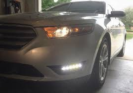 2010 ford taurus aftermarket tail lights drive bright ford taurus led drl kit standard black with built