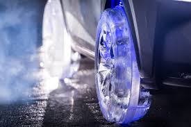 lexus winter rims lexus nx gets wheels and tires crafted entirely in ice for winter