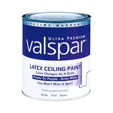 Powder Blue Paint Color by Valspar Color Changing Ceiling Paint Interior Flat Quart