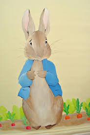 peter rabbit mural inspired spaces peter rabbit detail beatrix potter mural