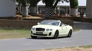 bentley continental 2010 bentley continental supersports convertible makes public driving