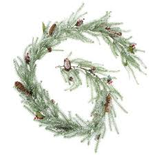 frosted pine garland hobby lobby 5287651