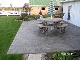 Backyard Cement Ideas Creative Of Backyard Cement Patio Ideas 1000 Images About Outdoor