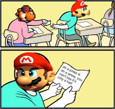 Meme Quiz - quiz mario 0 5x a presses but first we need to talk about