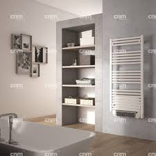 Small Heated Towel Rails For Bathrooms De U0027longhi Alicante White Electric Towel Rail With Fan Heated