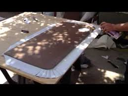 How To Do Upholstery How To Cover New Door Panel 2 Youtube To Do Pinterest