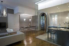 separation cuisine salle a manger une verri re dans la cuisine pour une d co r tro style atelier of
