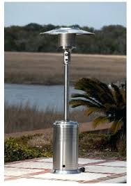 fire sense stainless steel patio heater with adjustable table fire sense patio heater pro series stainless steel propane gas patio