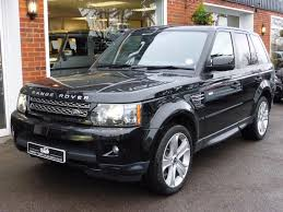 land rover sport 2013 used 2013 13 land rover range rover sport sdv6 hse black edition