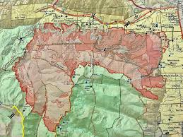 Texas Wildfire Danger Map by Fire Map Southeast Us Humphreydjemat Co