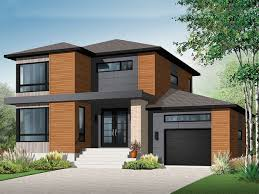 Contemporary House Plan Nice 2 Story House Modern 2 Story Contemporary House Plans