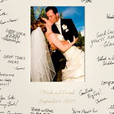 wedding wishes photo frame laser engraved wedding wishes signature frame