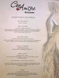 Filet Mignon Menu Corona Valentine U0027s Day Guide 2017 Life In Corona