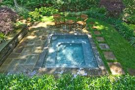 Pool Ideas For Small Backyard Inground Swimming Pool Design Ideas Inground Pool Designs For