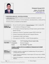cover letter resume template electrician sample resume electrician
